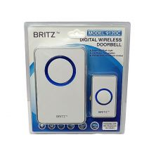 BRITZ 912DC Wireless Door Chime