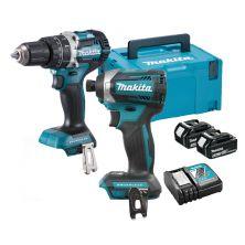 MAKITA DLX2181TJ Impact Drill / Driver Kit (18V)