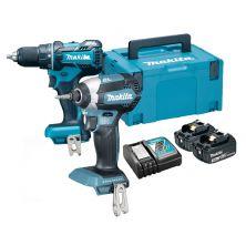 MAKITA DLX2198J Impact Drill / Driver Kit (18V)