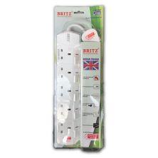 BRITZ Extension Plug Socket (5-WAY)