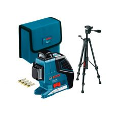 BOSCH GLL 3-80 Line Laser (w/ BT150 Tripod)