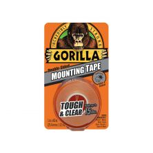 GORILLA Tough & Clear Mounting Tape 1""