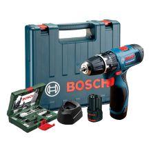 Bosch GSB 120-LI + 41 Piece Combination Set