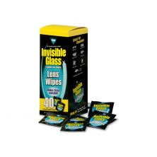 INVISIBLE GLASS Lens Wipes (40 Count)