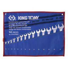 "KING TONY 1214SR01 Comb Spanner (3/8""~1-1/4"")"