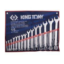 KING TONY 1215MR02 Spanner Set (15PCS)