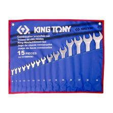 KING TONY 1215MRN02 Spanner Set (15PCS)