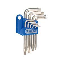 KING TONY 20409PR Torx Allen Key Set (9PCS)