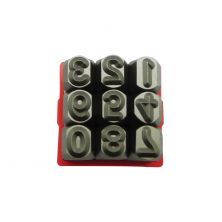 MAJESTA Number Punch Set (9PCS)