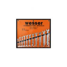 "Wesser Comb.Spanner Set 11PCS 3/8-1"""